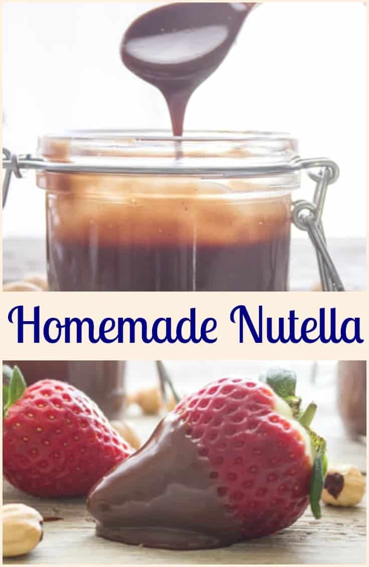 Homemade Nutella, a delicious creamy easy recipe. Made with dark chocolate, roasted hazelnuts, better than the original? You judge!