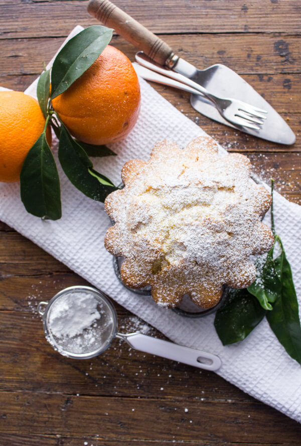 Italian Orange Cake, a moist and delicious made from scratch cake recipe. Homemade and easy, perfect for breakfast, snack or even dessert.