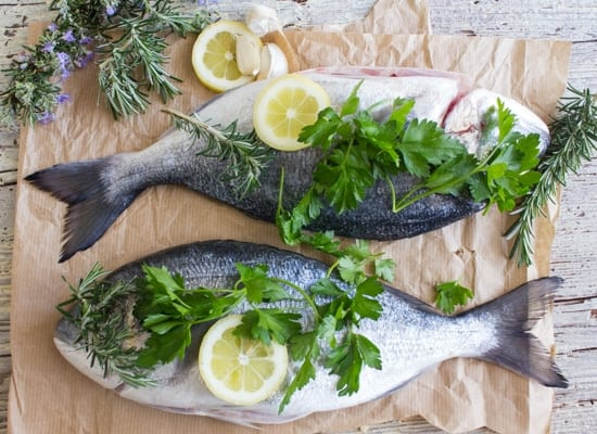 Baked Whole Gilt-Head Seabream or Trout, an easy healthy Italian baked whole fish recipe. A delicious family dinner.