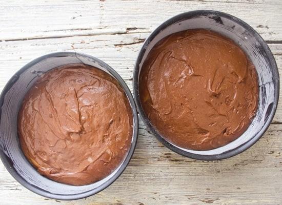Easy orange chocolate cake recipe