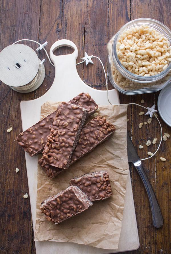 Double Chocolate Crispy Treats