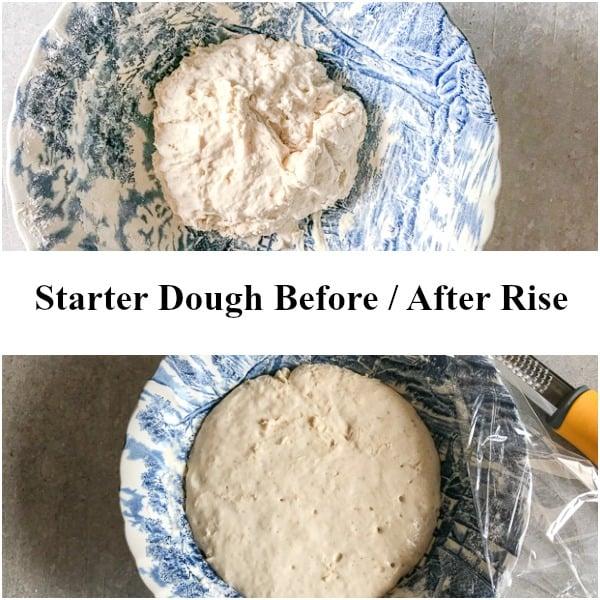 starter dough easter sweet bread
