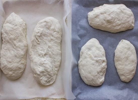 Homemade Italian Ciabatta Bread, an easy Italian Bread Recipe, perfect for dipping or using as an appetizer. Delicious.