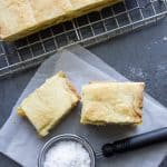 Italian Crostata Bars, a delicious Pie Bar Recipe Idea, a tasty peach filling make these rustic Italian Pastry Bars the best.