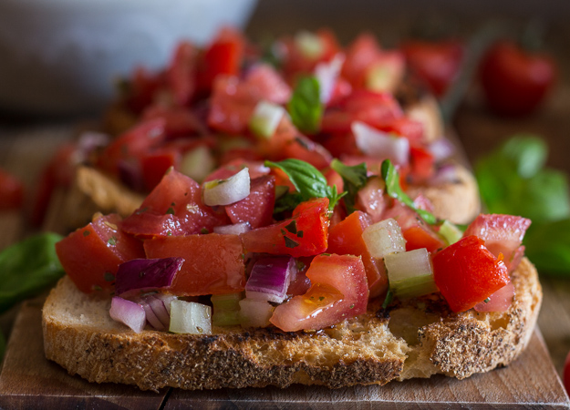 Easy Italian Tomato Bruschetta A Must For Every Bbq