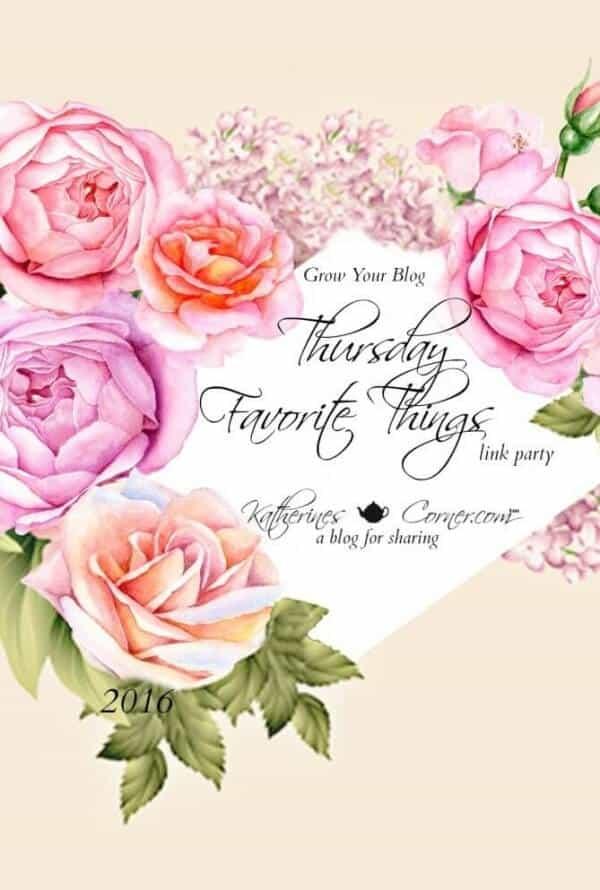thursday favorite things blog hop 244