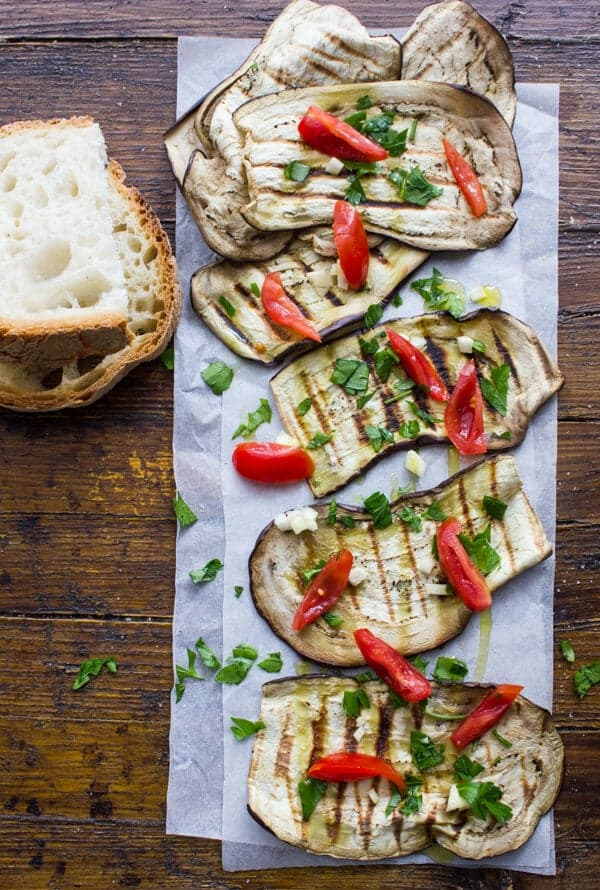 The Best And Easiest Grilled Eggplant