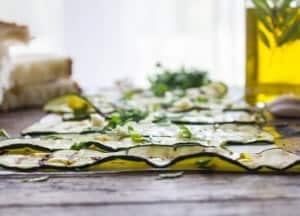 Simple Italian Grilled zucchini, a fast, easy and healthy appetizer recipe. The perfect BBQ dish with fresh seasoning.