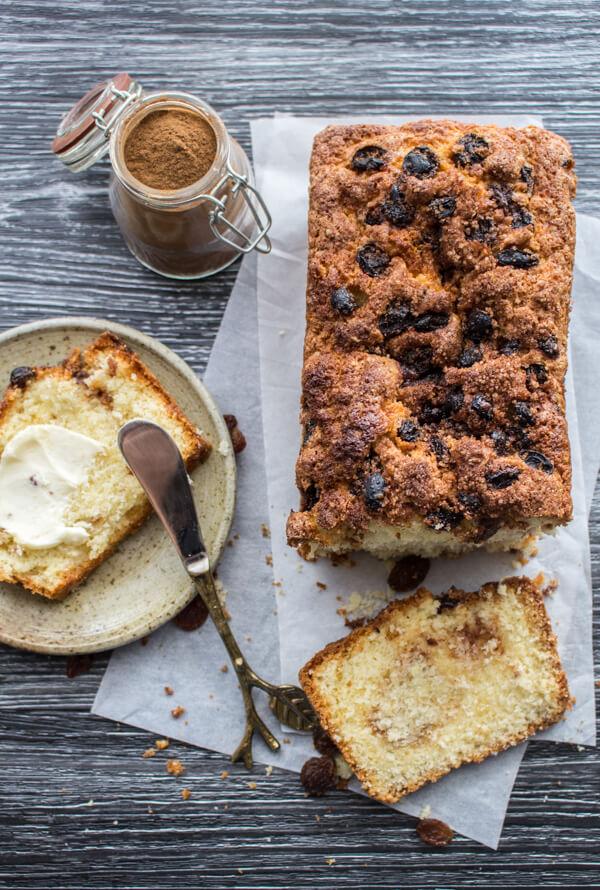Easy Cinnamon Raisin Quick Bread - An Italian in my Kitchen
