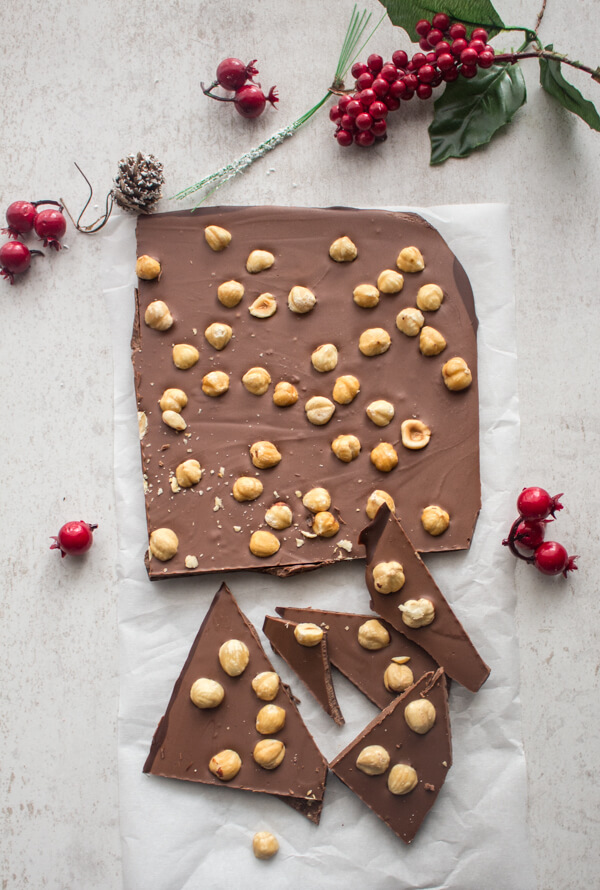 Italian Triple Chocolate Bark