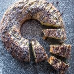 Italian Chocolate Chip Bundt Cake, an easy made from scratch moist cake recipe. The perfect breakfast, snack or dessert cake.