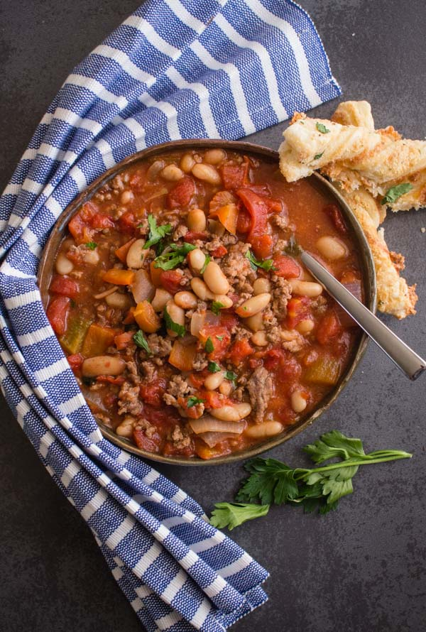 Easy Homemade One Pot Chili An Italian In My Kitchen