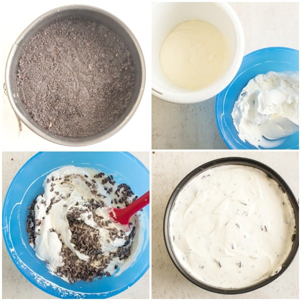 no bake light cream cheese berry cheesecake
