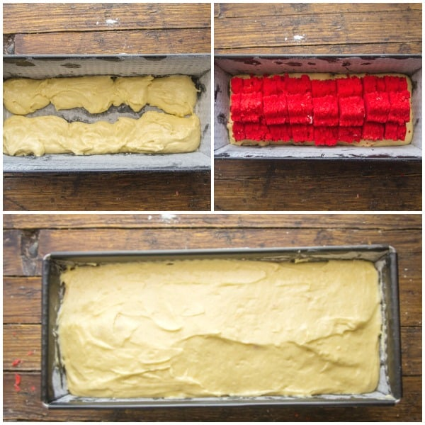 how to make surprise inside canada day cake photos.