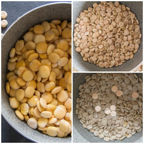 how to make lupin beans 3 photos