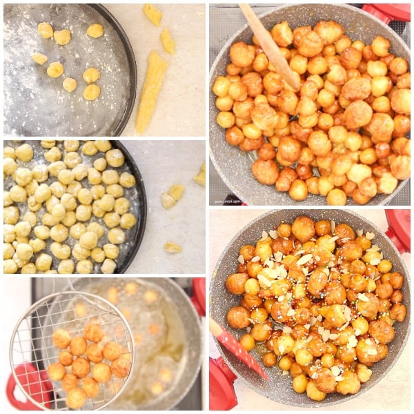 5 how to make struffoli photos