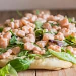 shrimp pizza on board