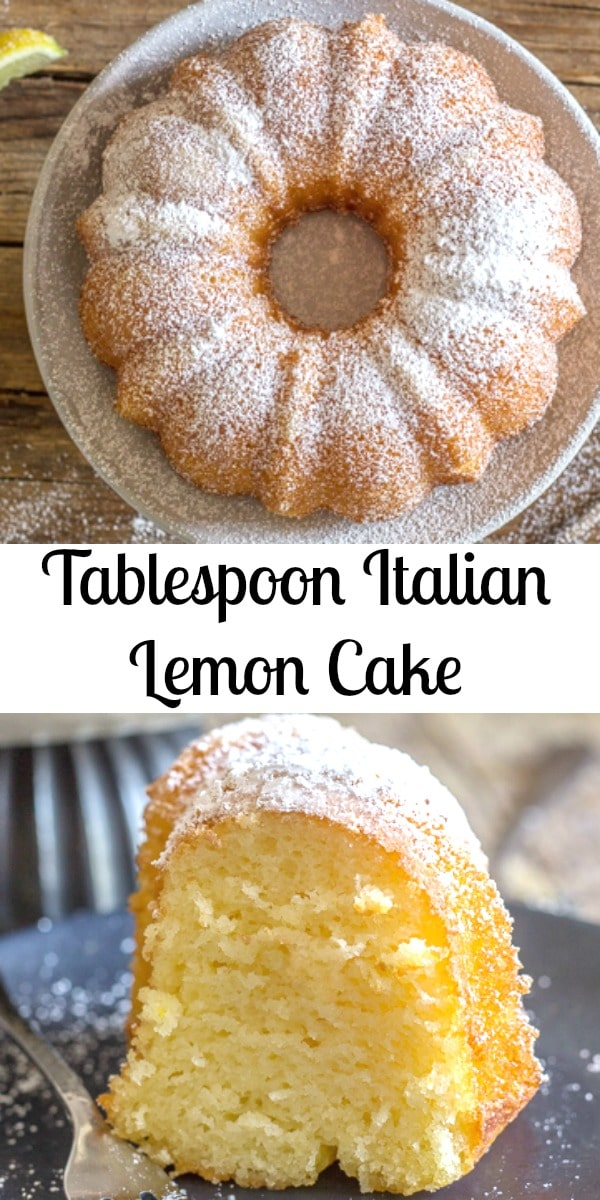 Tablespoon Italian Lemon Cake An Italian In My Kitchen