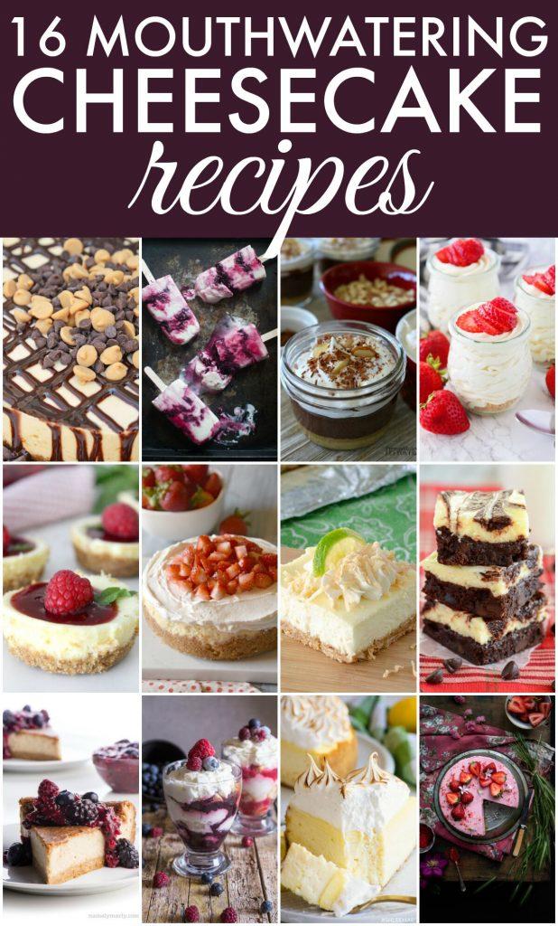 cheesecake recipes