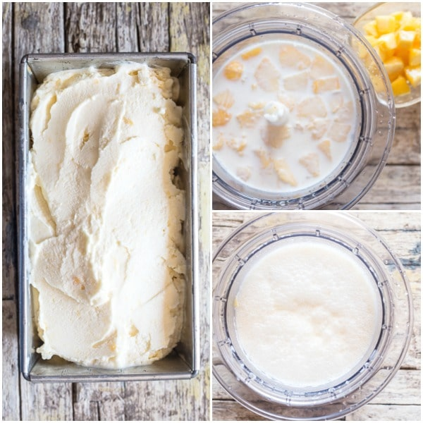 peach ice cream how to make ice cream in a loaf, peaches & cream in a blender, blended