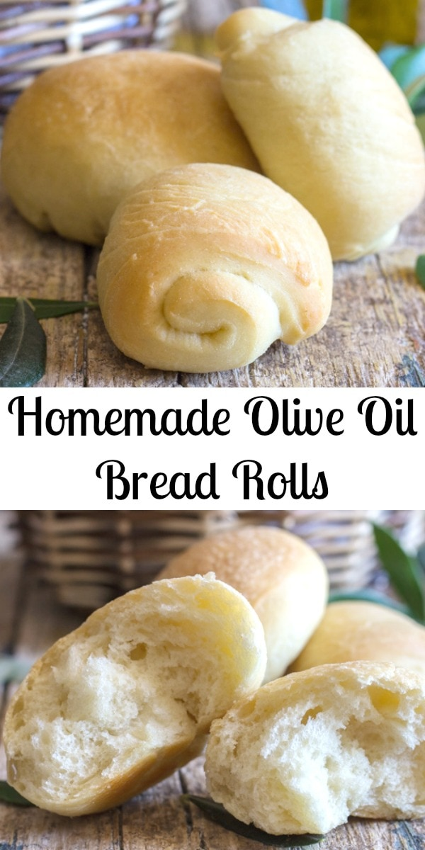 Nothing like a Yeast Bread, especially these delicious soft Olive Oil Bread Rolls. Easy Homemade bread never tasted so good. #bread #rolls #Thanksgiving #Christmas