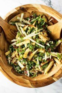 roasted parsnip salad