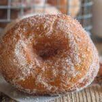 up close cake donut