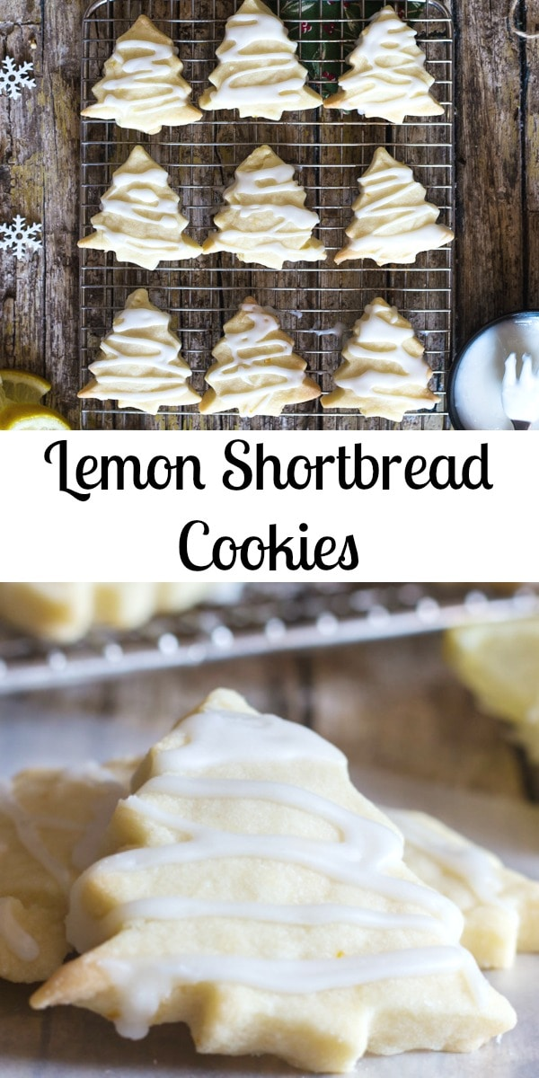 Shortbread Cookies are a must and these Lemon Shortbread are the perfect Lemon Lovers melt in your mouth Cookie. #shortbread #cookies #Christmascookies #lemoncookies