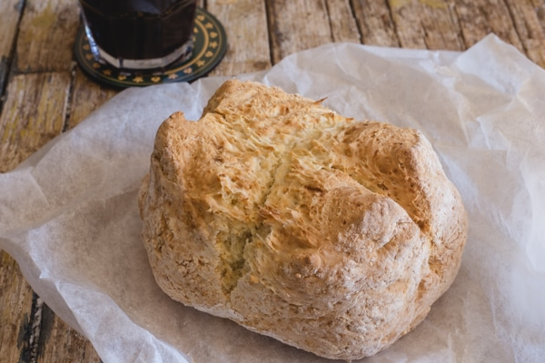 up close Irish Soda Bread