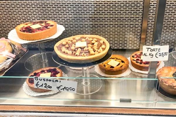 chocolate hazelnut pie in Venice
