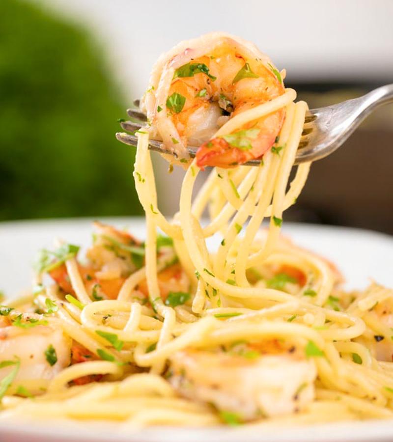 Easy Italian Shrimp Pasta