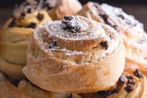 up close sweet bun