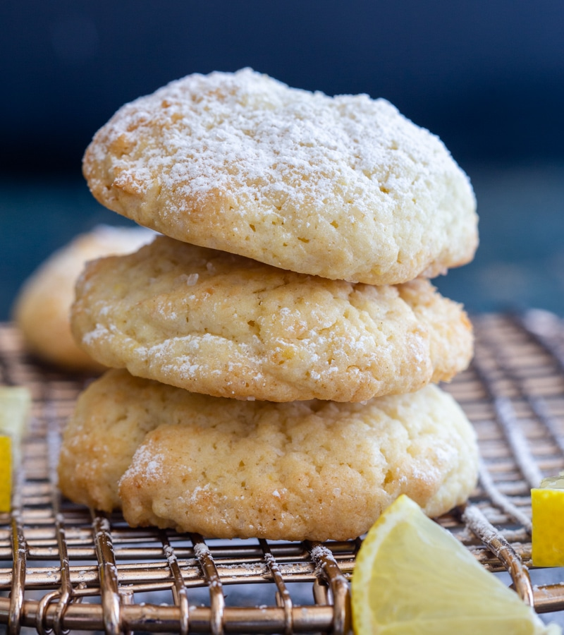 Ricetta Lemon Cookies.Easy Lemon Drop Cookies An Italian In My Kitchen