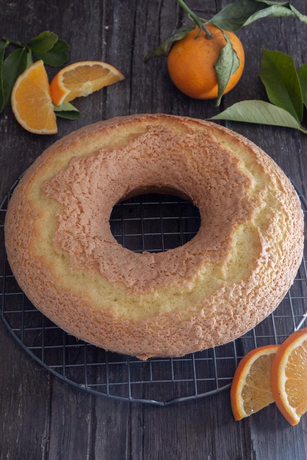 the baked orange cake