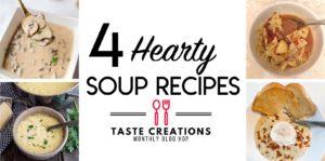 4 healthy soups