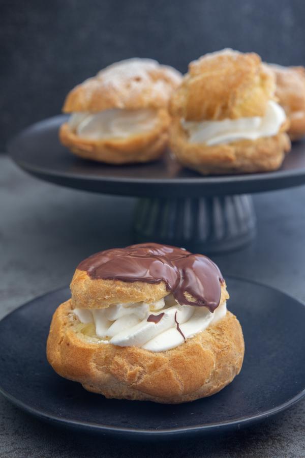 Travel Street Dish cream-puffs-image Cream Puffs Italian Baked Bignè