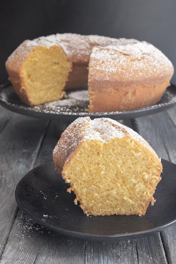 Travel Street Dish bundt-cake-pic Classic Italian Bundt Cake Recipe / Ciambellone