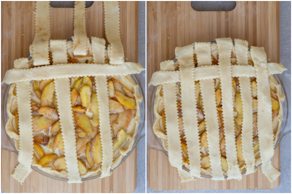 How to braid the pie.