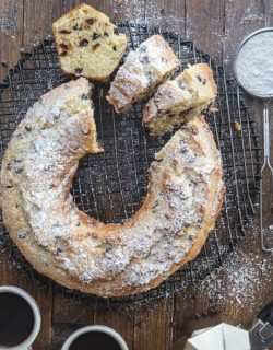 Italian Chocolate Chip Ricotta Cake